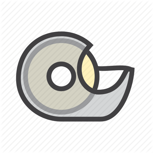 Dispenser, Fix, Tape Icon