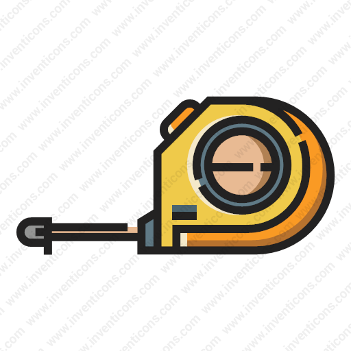 Download Measuring,tape Icon Inventicons