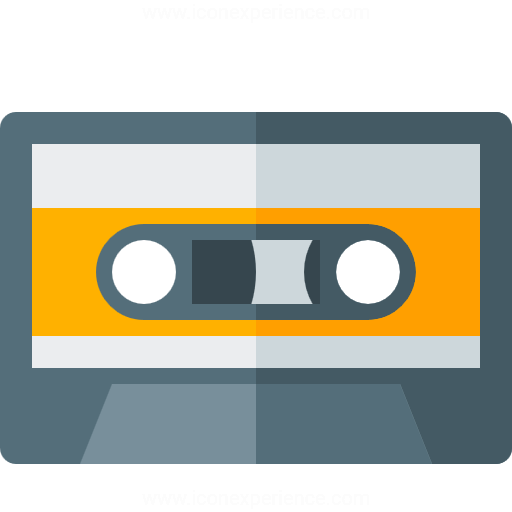Iconexperience G Collection Audio Cassette Icon
