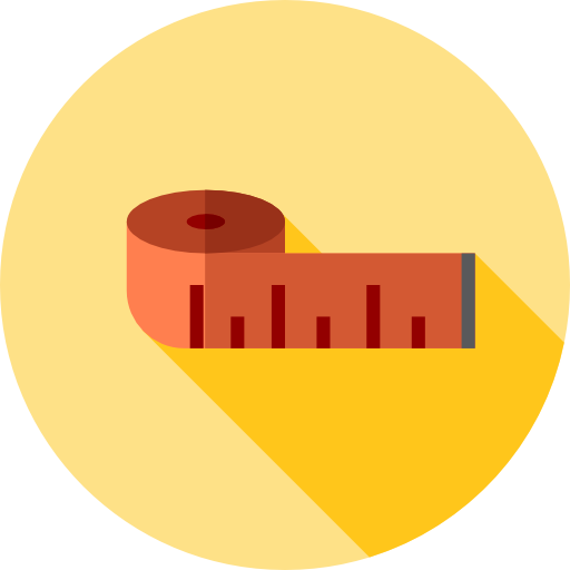 Measuring Tape Icon Gym And Fitness Freepik