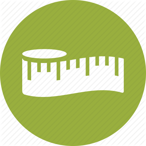 Diet, Inches, Measure, Measurement, Measuring Tape, Slim, Tape Icon