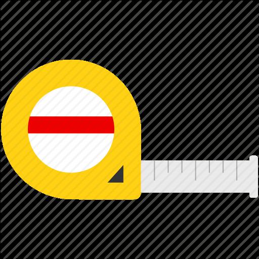 Equipment, Ruler, Tape Measure Icon