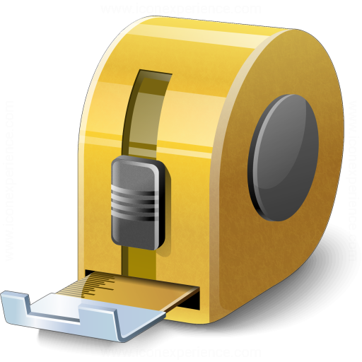 Iconexperience V Collection Tape Measure Icon