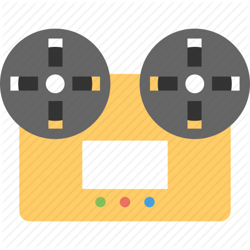 Cassette, Music, Reel To Reel, Tape, Tape Recorder Icon