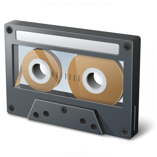 Iconexperience V Collection Audio Cassette Icon