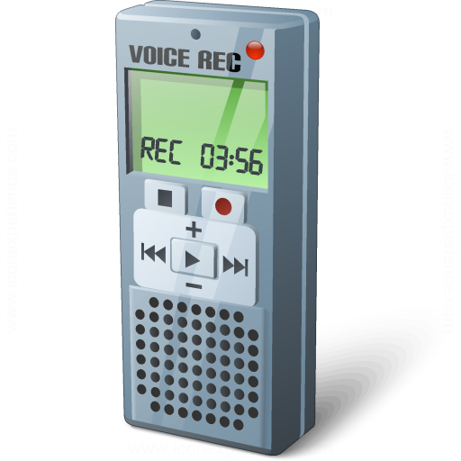 Iconexperience V Collection Voice Recorder Icon