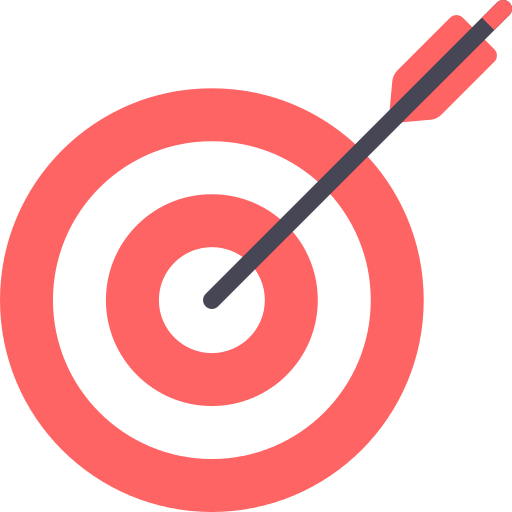 Dart Board Target Png Icon