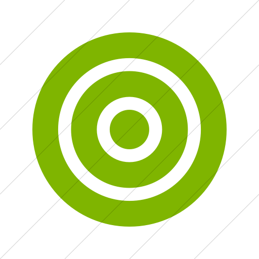 Simple Green Foundation Target Icon