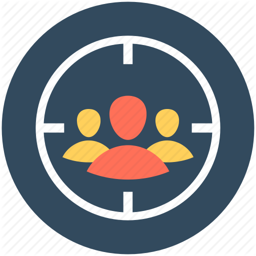 Business Target, Focus, Person Target, Target, Users Target Icon