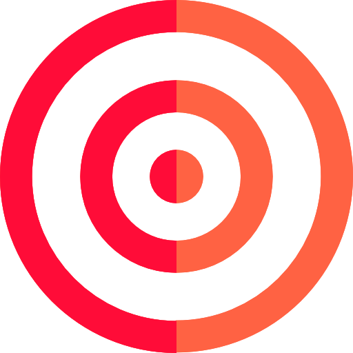 Dart Board, Targeting, Target, Weapons, Arrow, Archery Icon