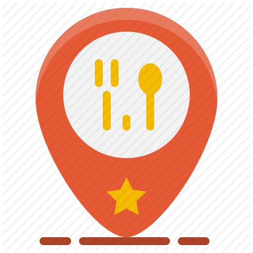 Food, Gps, Location, Map, Pin, Shop, Store Icon