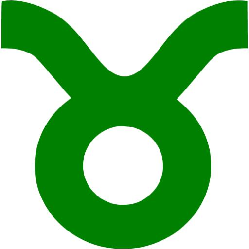 Green Taurus Icon