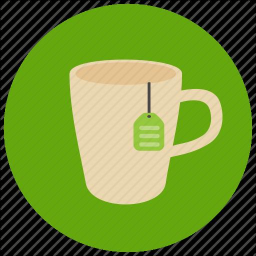 Beverage, Drink, Hot Drink, Sweets, Tea, Tea Bag, Tea Cup Icon
