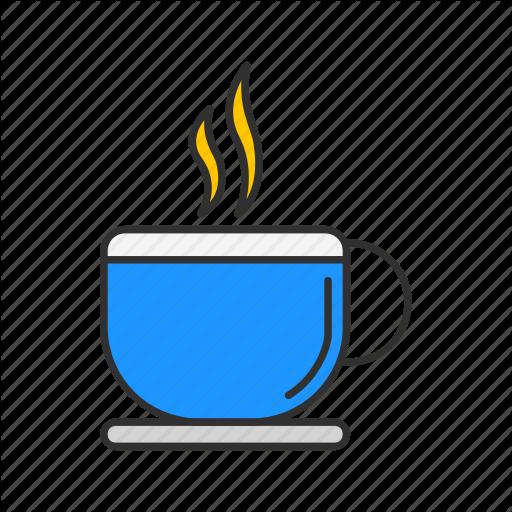 Coffee, Hot Coffee, Mug, Tea Cup Icon