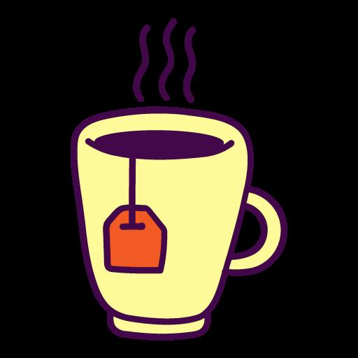 Tea, Cup Icon Free Of Autumn Hand Drawn