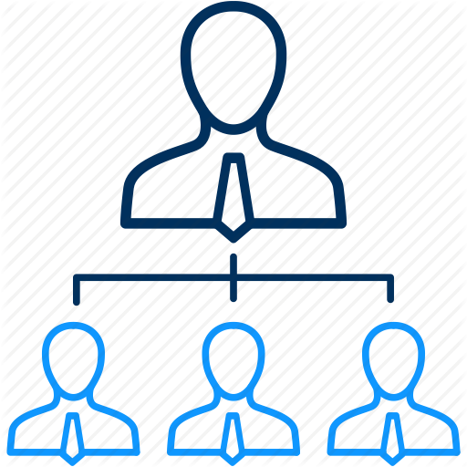 Hierarchy, Management, Organization, Structure, Team Building Icon