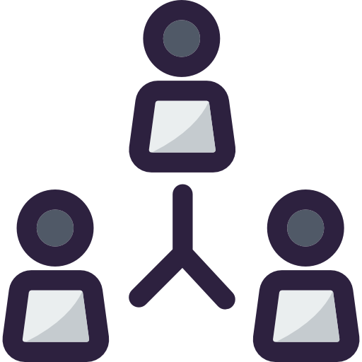 Networking, Working, Team, Group, Network, Collaboration Icon