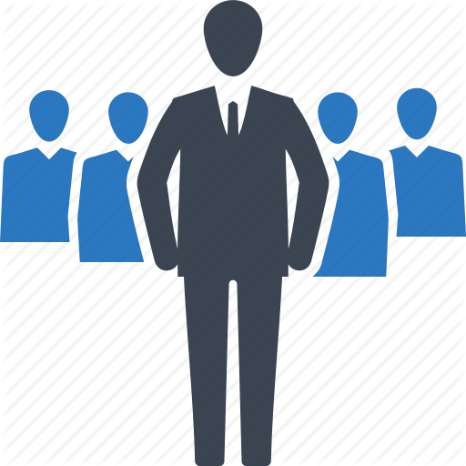 Business Team Icon Png Business Businessman Leader