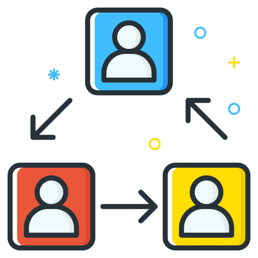 Rotation, People, Users, Workers, Group, Team Icon Free Of Free