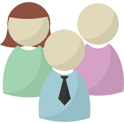People, Leader, Users, Group, Team Icon