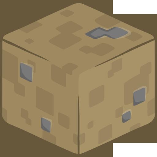 D Dirt Icon Minecraft Iconset