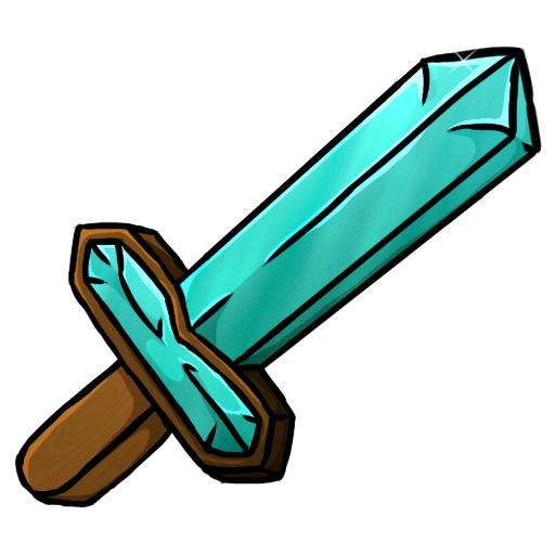 Diamant, Schwert Symbol Kostenlos Von Minecraft Icons