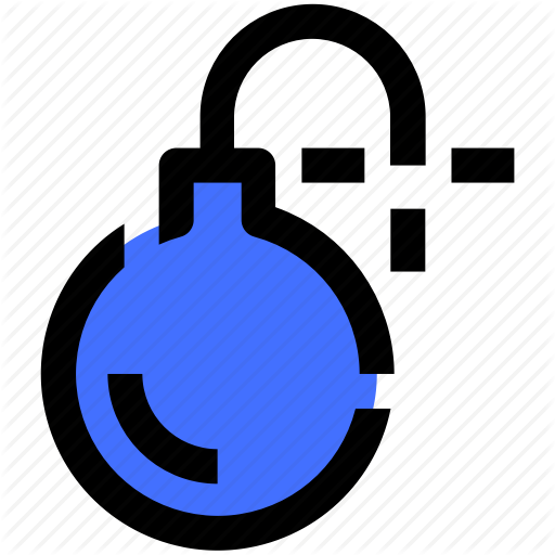 Bomb, Computer, Data, Information, Security, Technology Icon