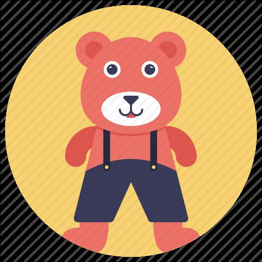 Baby Toy, Bear, Stuff Toy, Stuffed, Teddy Bear Icon