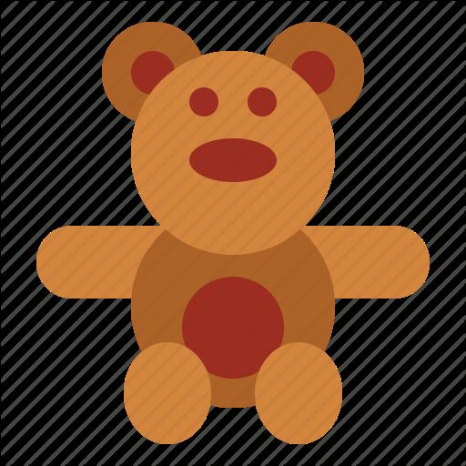 Bear, Teddy, Teddy Bear, Toy Icon