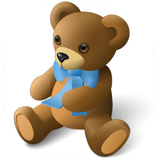 Iconexperience V Collection Teddy Bear Icon