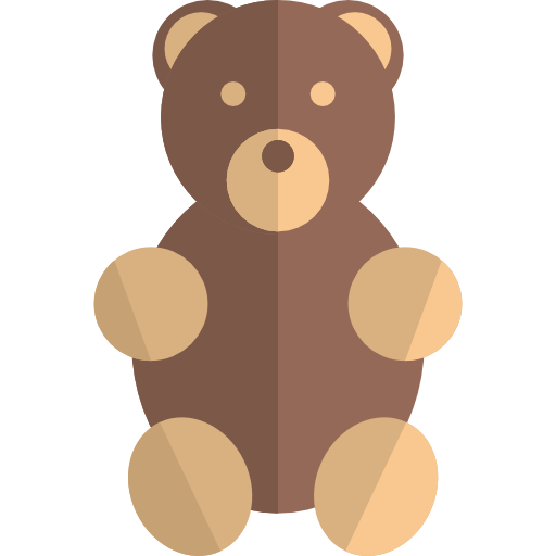 Puppet, Animals, Teddy Bear Icon