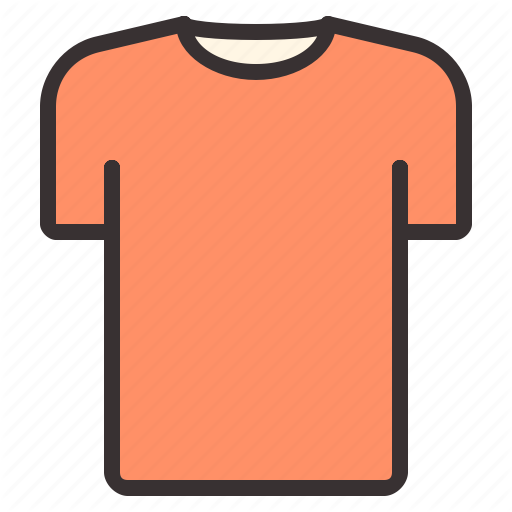 Apparel, Clothes, Clothing, Shirt, T Shirt, T Shirt Icon