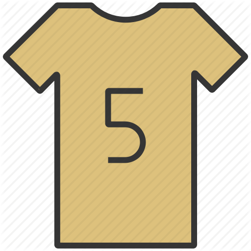 Clothes, Clothing, Number, T Shirt, Tee Shirt Icon
