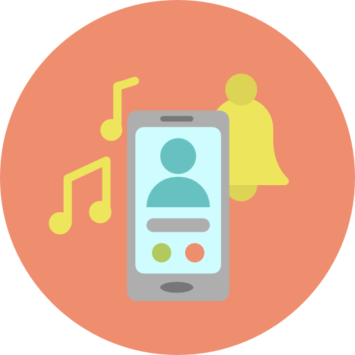 Telephone Call, Phone Call, Ringtone Icon