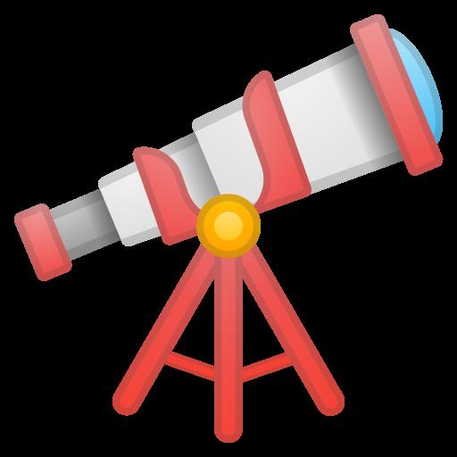 Telescope Icon Noto Emoji Objects Iconset Google