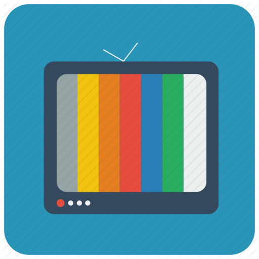 Cmyk, Colours, Old Tv, Rgb, Tele, Television, Tv Icon
