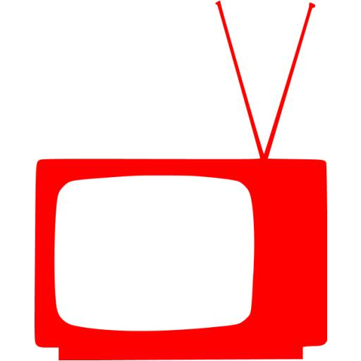 Red Television Icon