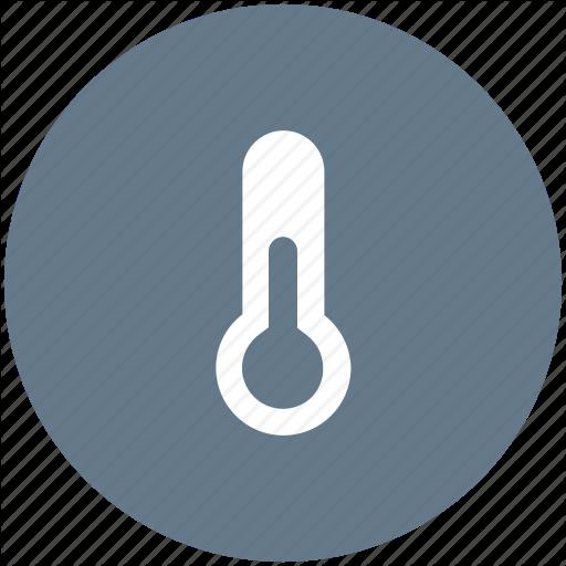 Temp, Temperature, Thermometer, Weather Icon Icon