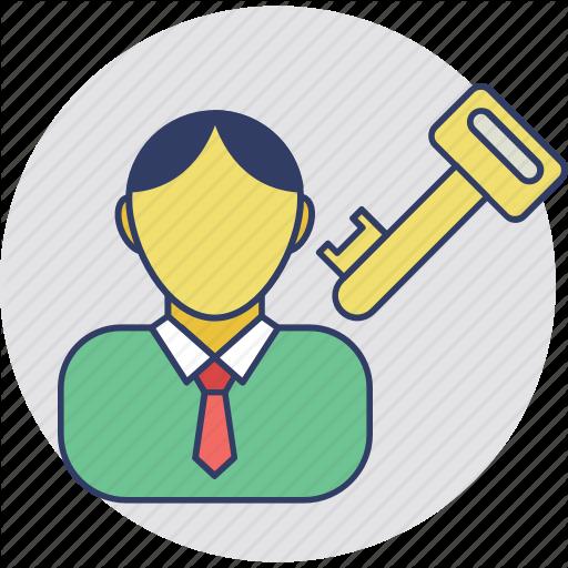 Estate Broker, Homeowner, Landlord, Property Agent, Tenant Icon