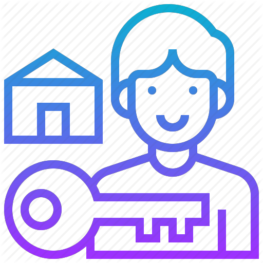 House, Lessee, Renter, Room, Tenant Icon