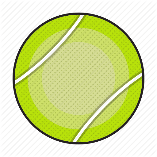 Ball, Sports, Tennis, Tennis Ball, Tennisball Icon