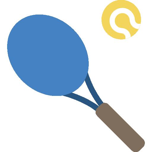 Tennis Icon Leisure Smashicons