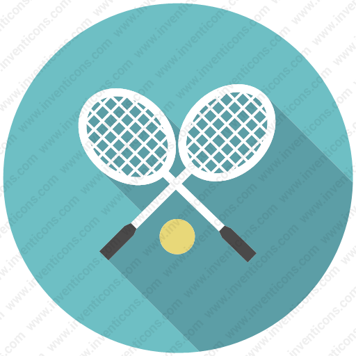 Download Ball,racket,racquet,sport,tennis,long Icon Inventicons