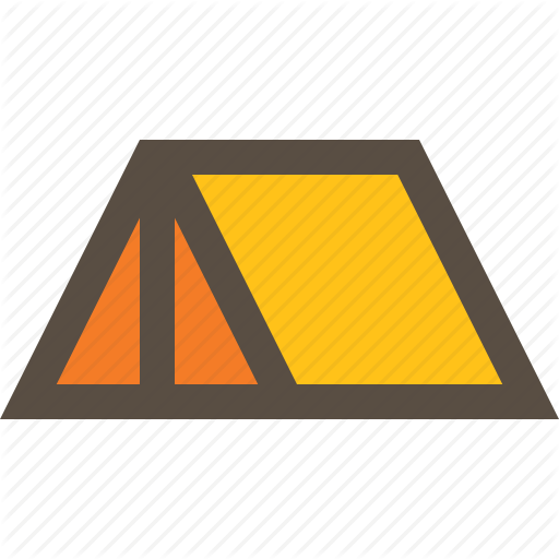 C Camping, Outdoor, Tent Icon