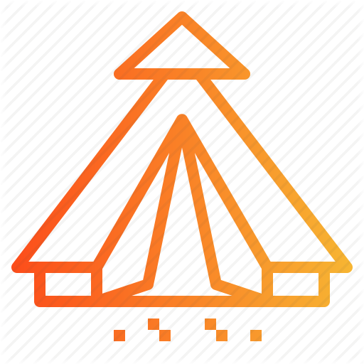 Camping, Nature, Tent Icon