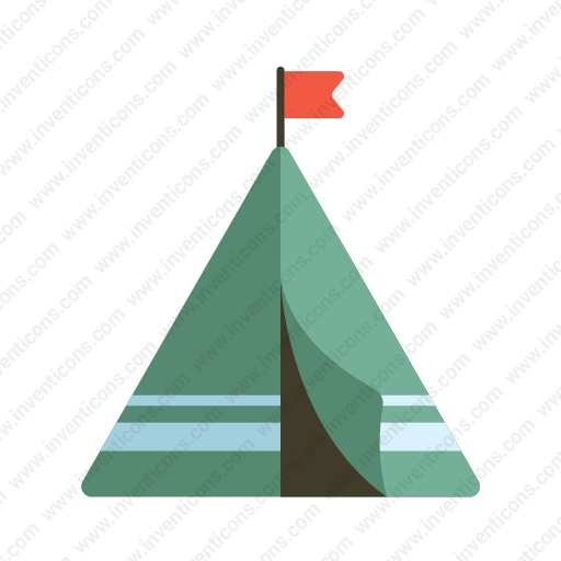 Download Tent Icon Inventicons