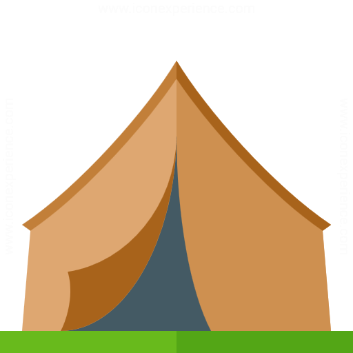 Iconexperience G Collection Tent Icon