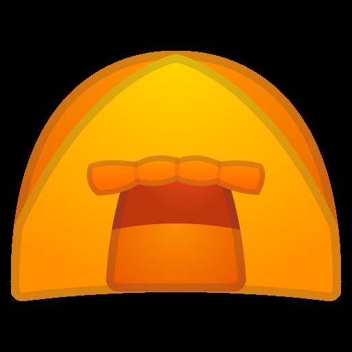 Tent Icon Noto Emoji Travel Places Iconset Google