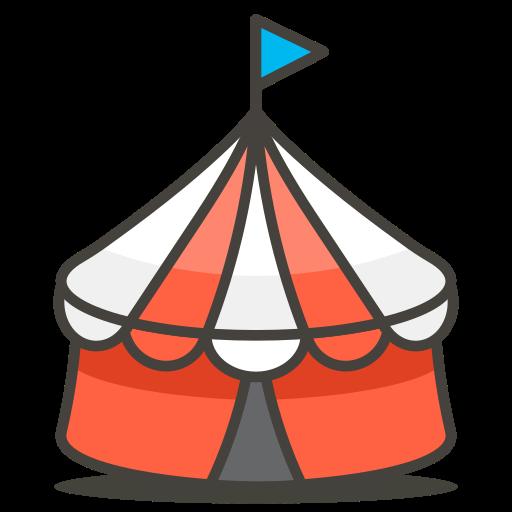 Circus, Tent Icon Free Of Free Vector Emoji