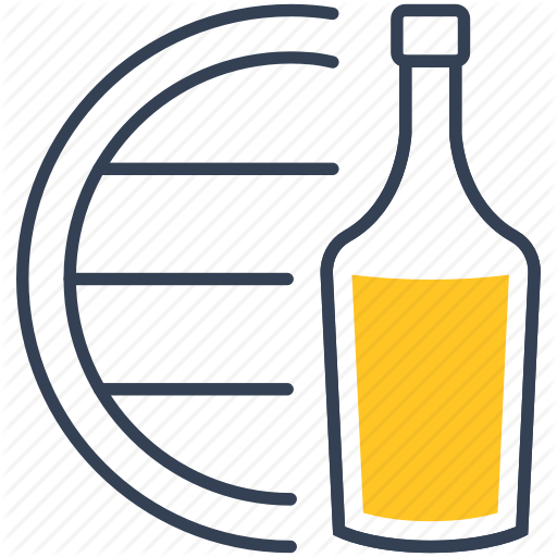 Alcohol, Barrel, Tequila Icon